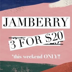Jamberry Makeup - 3/$20 THIS WEEKEND ONLY! All partial wraps!